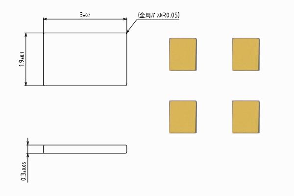 プレート端子【STDP-2303-A】