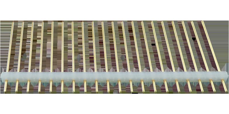 ピンヘッダーSS【STDPH-C-SS06-R254-A-PA20】φ0.6 2.54mmピッチ(1パック5個入り)
