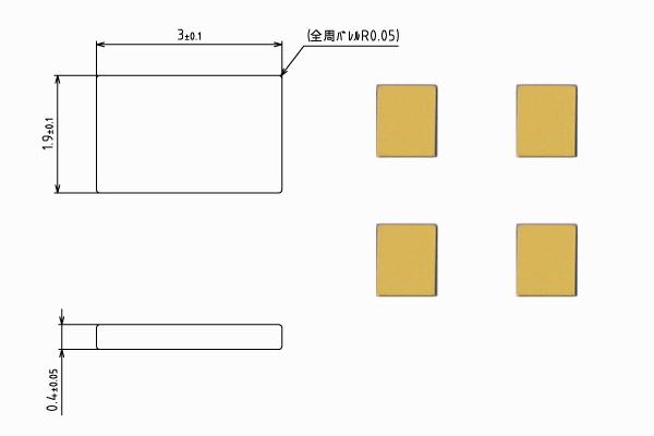 プレート端子【STDP-2304-A】