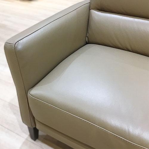 【228,000円より30%引】ソファ カローレ C132/064 革BR/南船橋店展示品