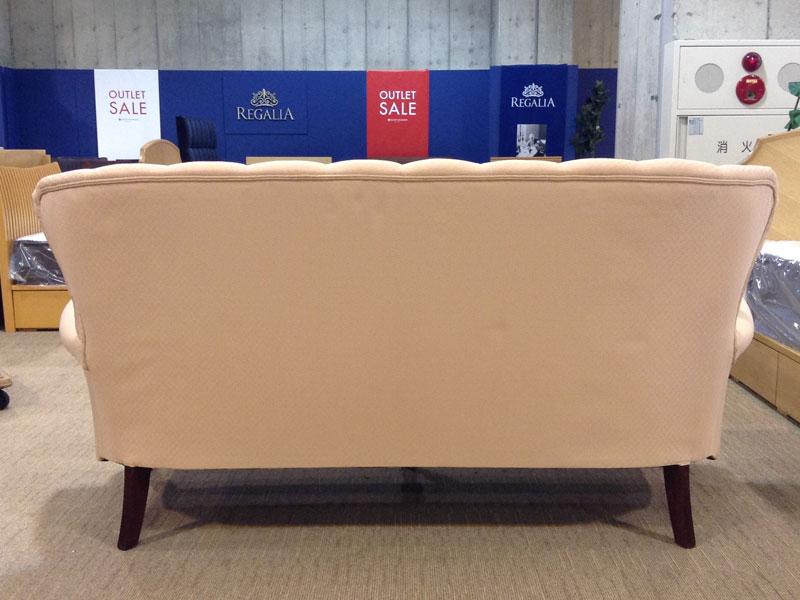 【607,000円より38%引】ソファ+オットマン「ヘイスティングス」 /アウトレット&リワース横浜展示品