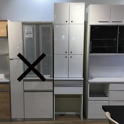 【118,800円より20%引】食器棚 Mシリーズ ホワイト色/南船橋店展示品