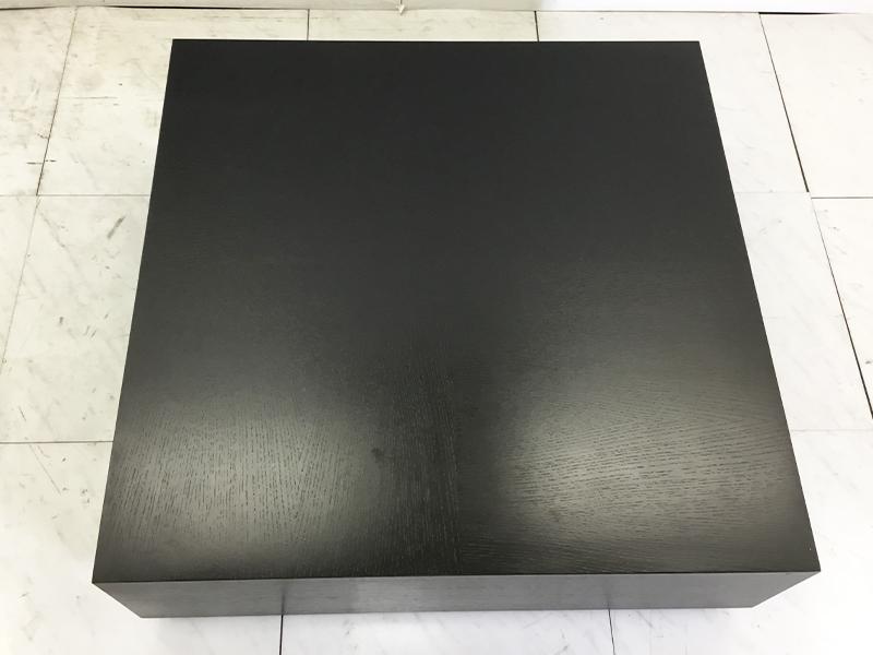 【35,400円より50%引】センターテーブル DM-GF002H30DB オーク材ダークブラウン/数量限定お買い得品