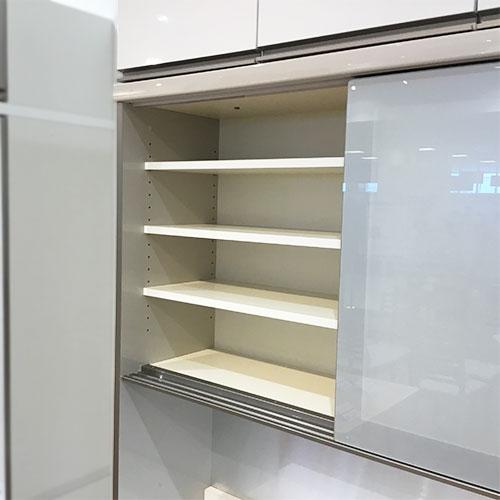 【200,200円より16%引】食器棚(上置付き) AUR-CS1200R/南船橋店展示品