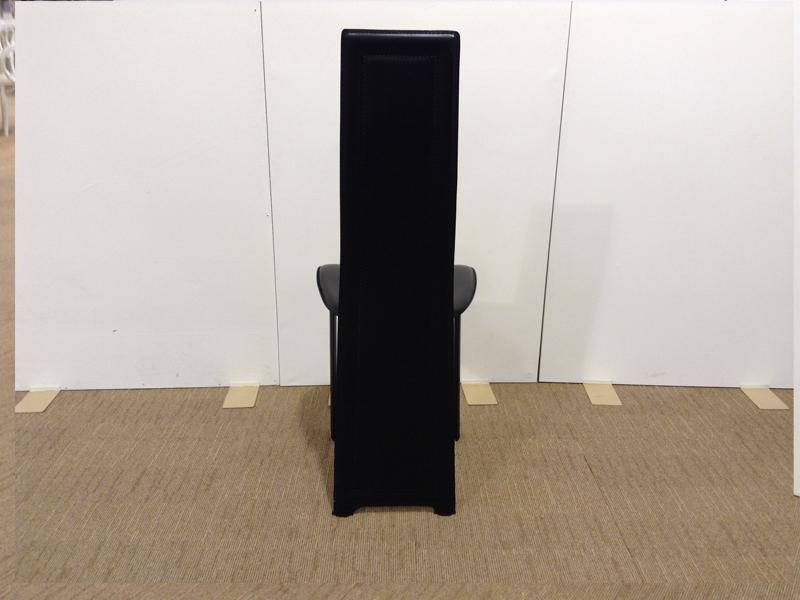 【24,300円より40%引】椅子「8391N-R3」合皮ブラック色/アウトレット&リワース横浜展示品