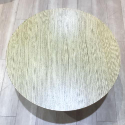 【50,700円より23%引】センターテーブル(丸) リーベ WO/南船橋店展示品
