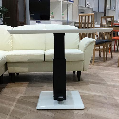 【60,900円より21%引】テーブル(昇降式) フィットE ハイタイプ ホワイト/南船橋店展示品