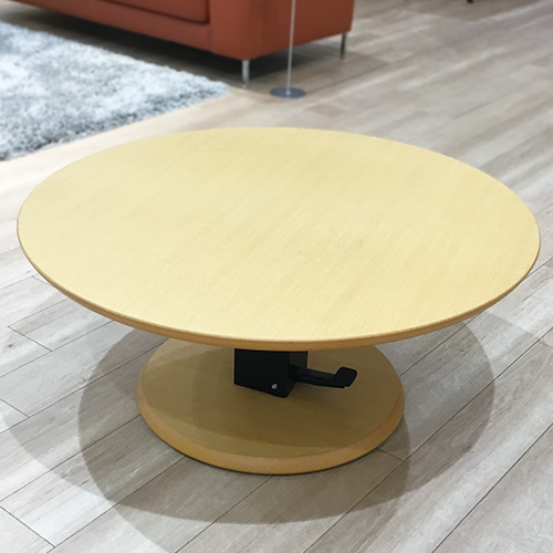 【74,800円より22%引】テーブル昇降式フィットD L WOオーク/南船橋店展示品