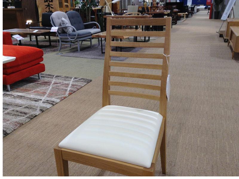 【39,800円より20%引】椅子N005 #PVCBE/WOナラ /数量限定お買い得品