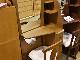 【98,500円より20%引】姿見ドレッサー「シェリー2」ナラ色 椅子つき/アウトレット&リワース横浜展示品