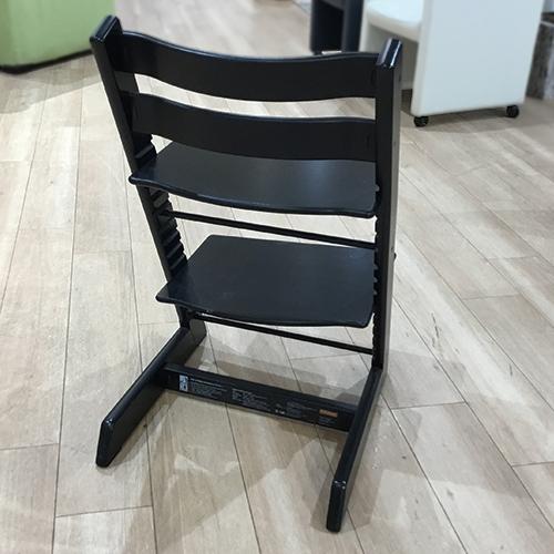 【27,100円より11%引】椅子 トリップトラップ ブラック/南船橋店展示品