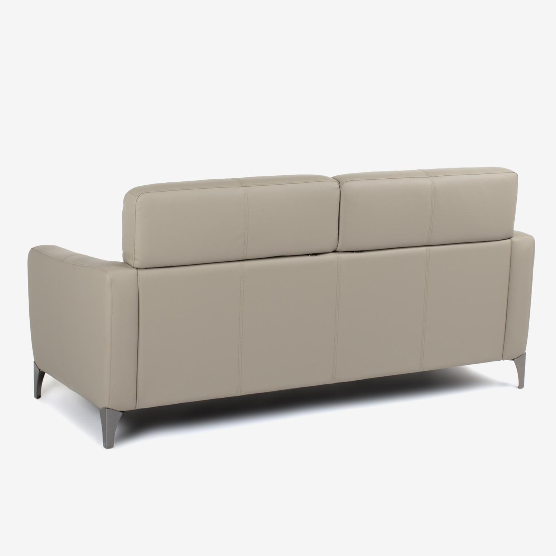 【アウトレット限定モデル】3人掛けソファ「OL-クレフ SD-471」半革サンド色 #OM-948