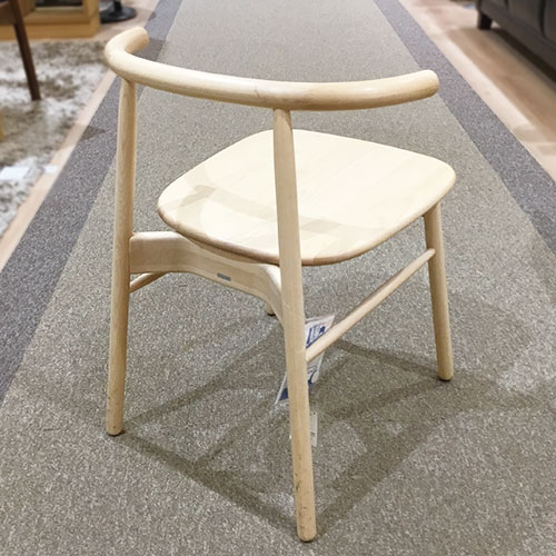 【16,800円より16%引】椅子 DL-エルフ ナチュラル/南船橋店展示品