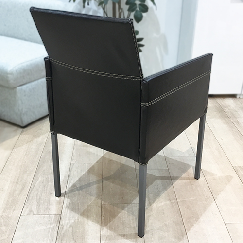 【386,000円より40%引】椅子4脚セット テキサス 革アンティーク#BR/南船橋店展示品