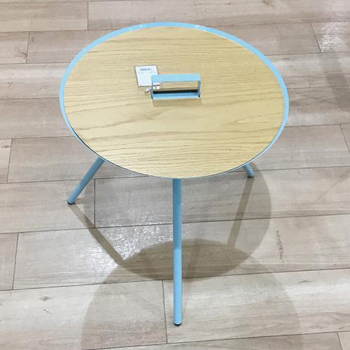 【10,780円より20%引】サイドテーブル ハイク S7608BL/南船橋店展示品
