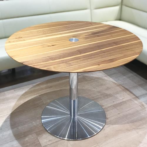 【586,000円より30%引】丸テーブル(昇降式) P430SP WN/南船橋店展示品