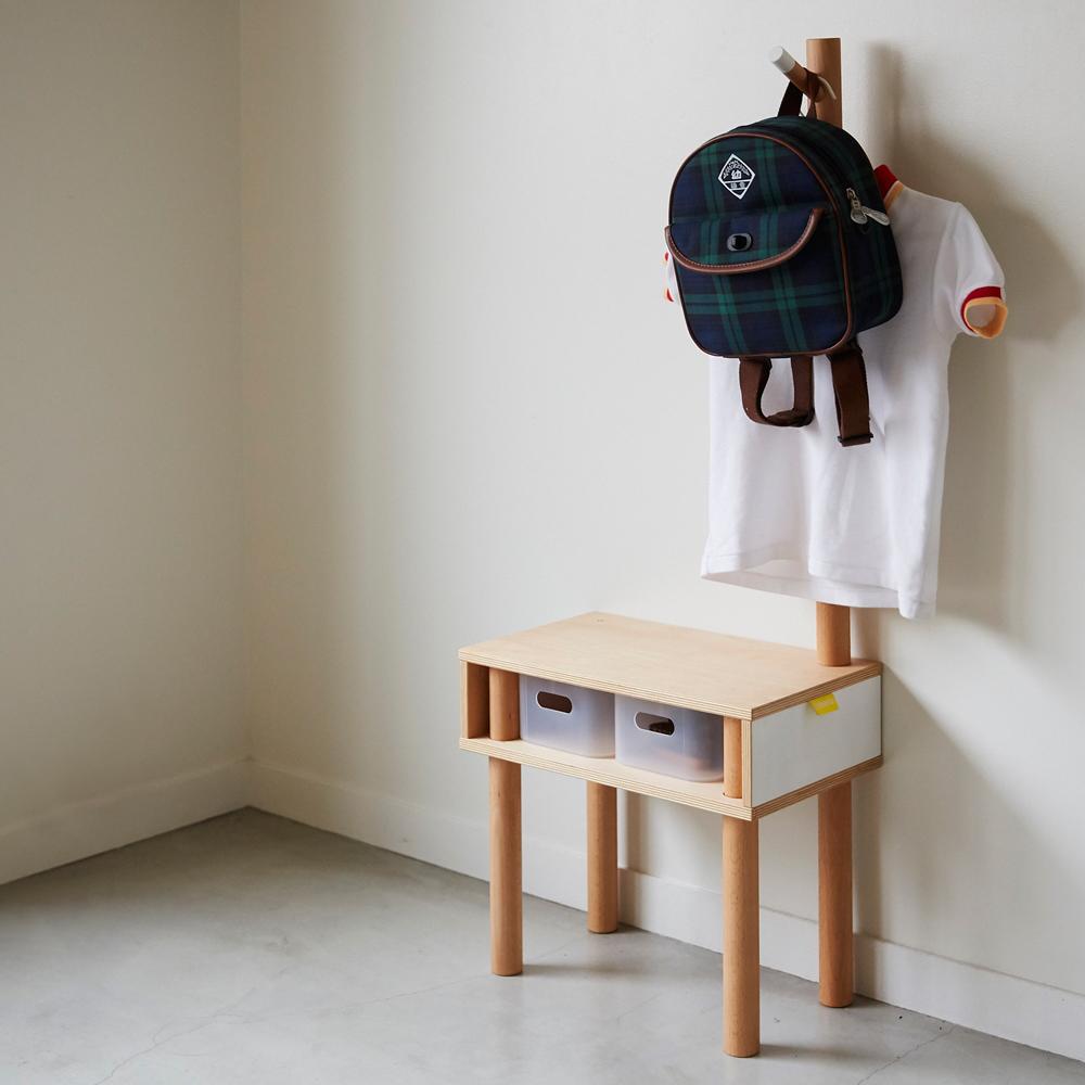 hanger&stool giraffe