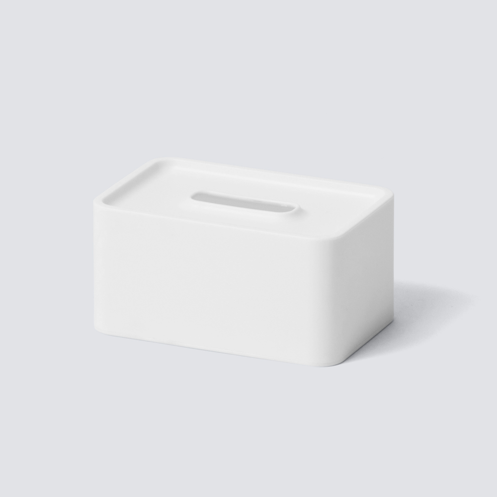 compact tissue case リッチホワイト