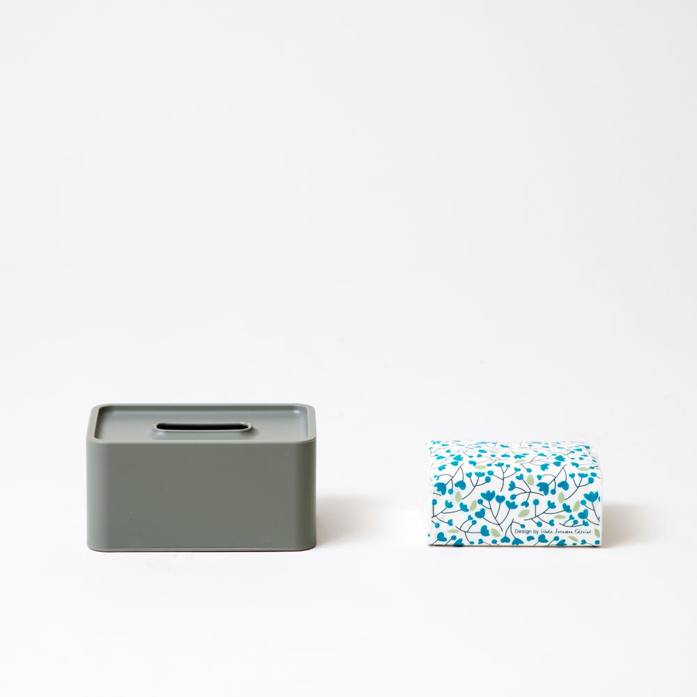 compact tissue case コーラル