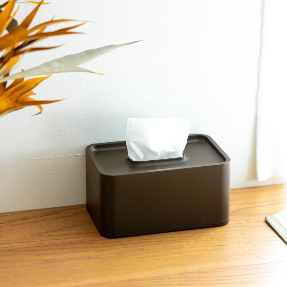 compact tissue case ウェンジブラウン