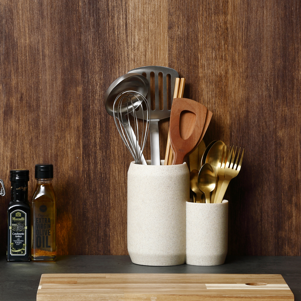 Kitchen Tool Stand COMBO ストーンサンドグレー