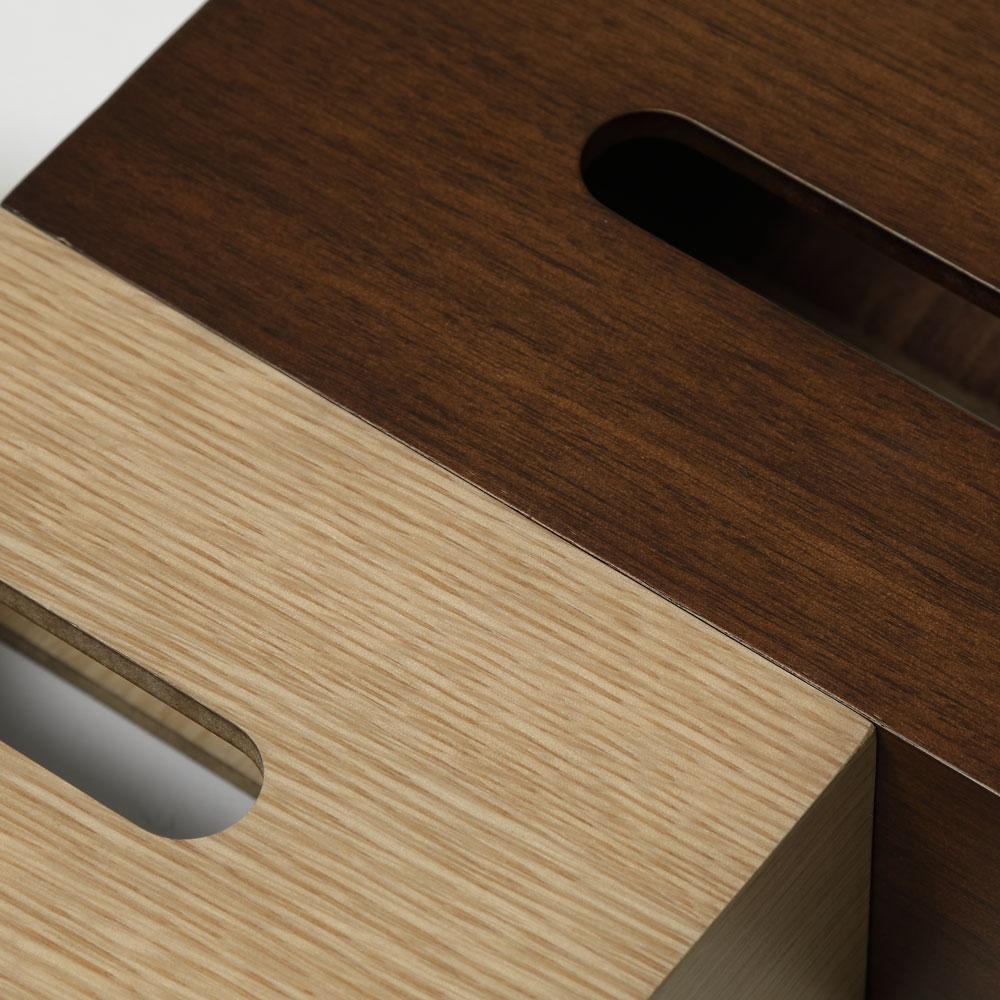 【NEW】Tissue Case SP wood オーク