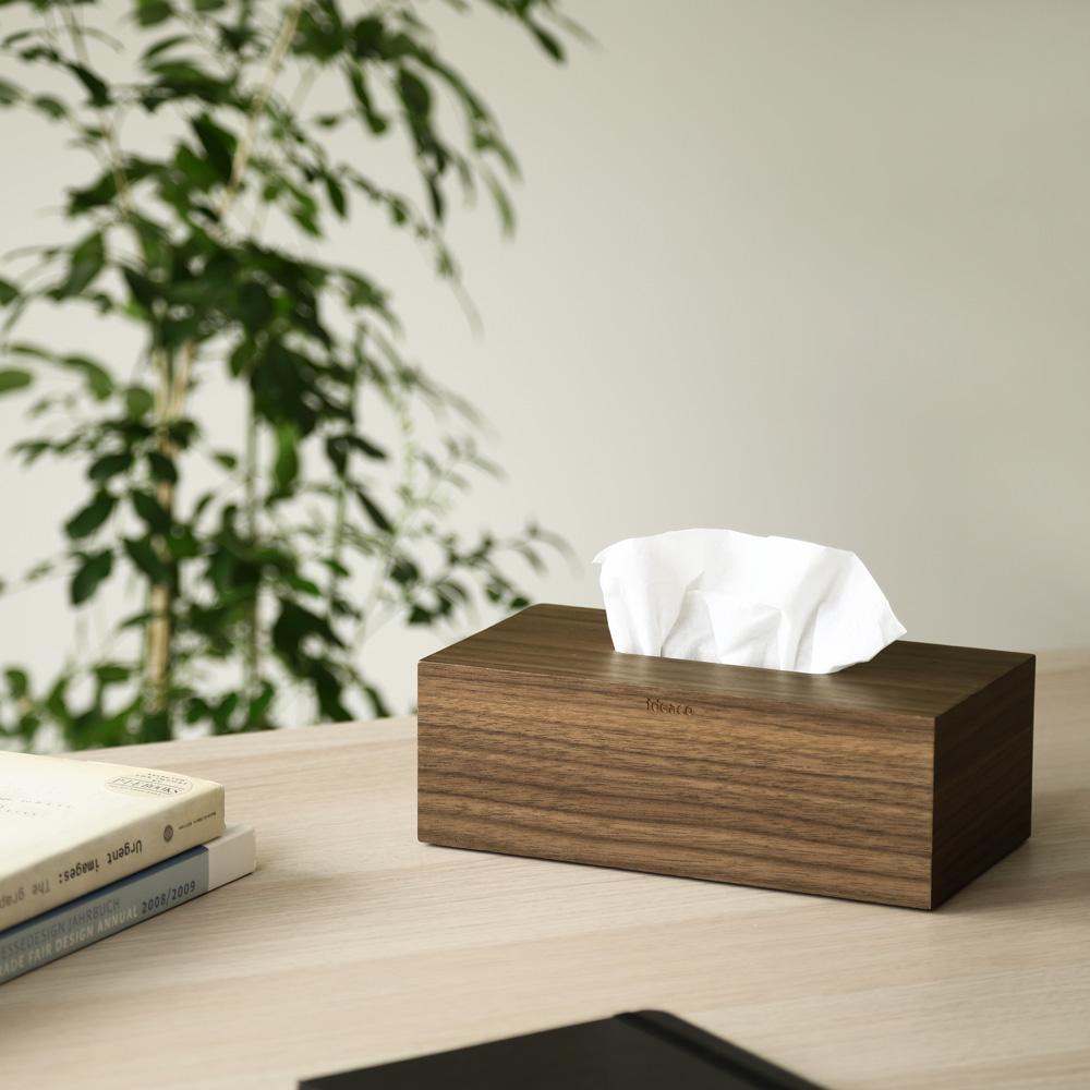 【入荷予約】Tissue Case SP wood ウォルナット