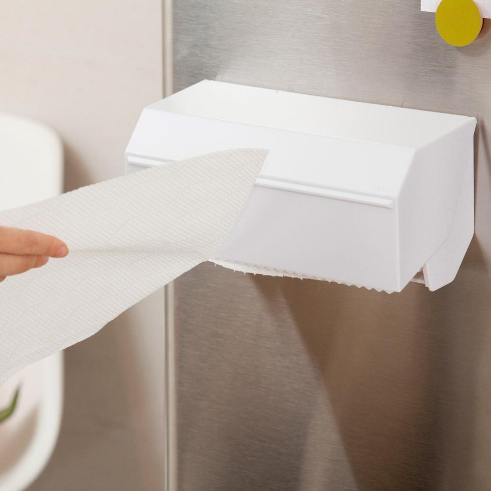 kitchen towel dispenser ブラック