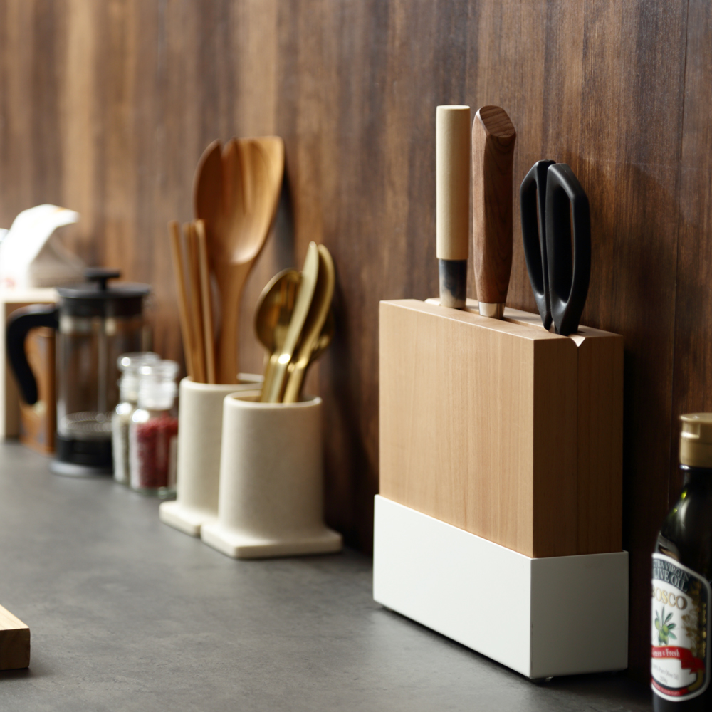 knife stand ホワイト