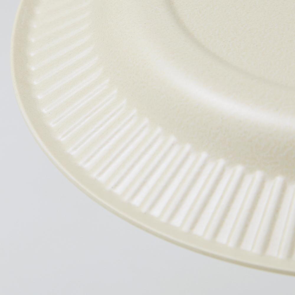 b fiber plate19/4pcs オフホワイト