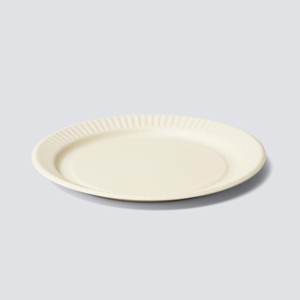 b fiber plate25/4pcs オフホワイト