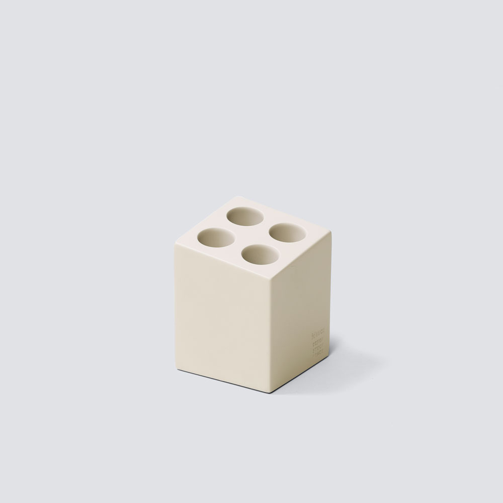 【NEW】mini cube(matt) ベージュ