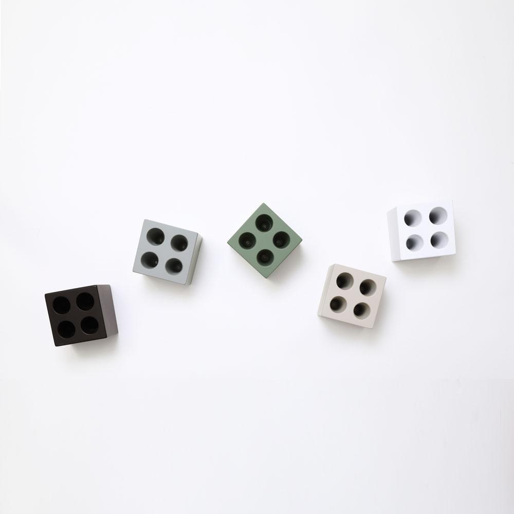 mini cube ブラウン