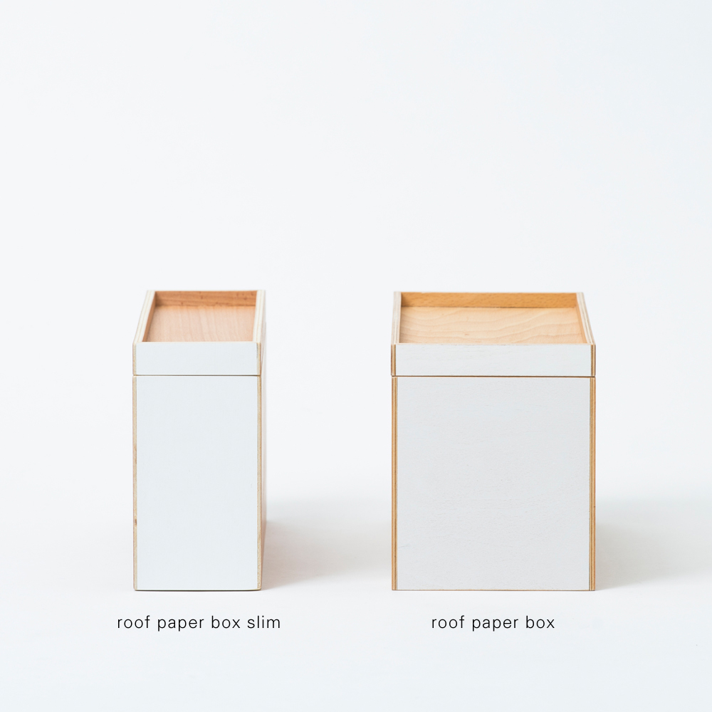 roof paper box slim