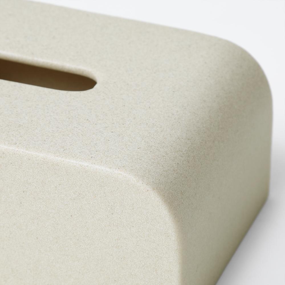 Tissue Case SP ストーンサンドホワイト