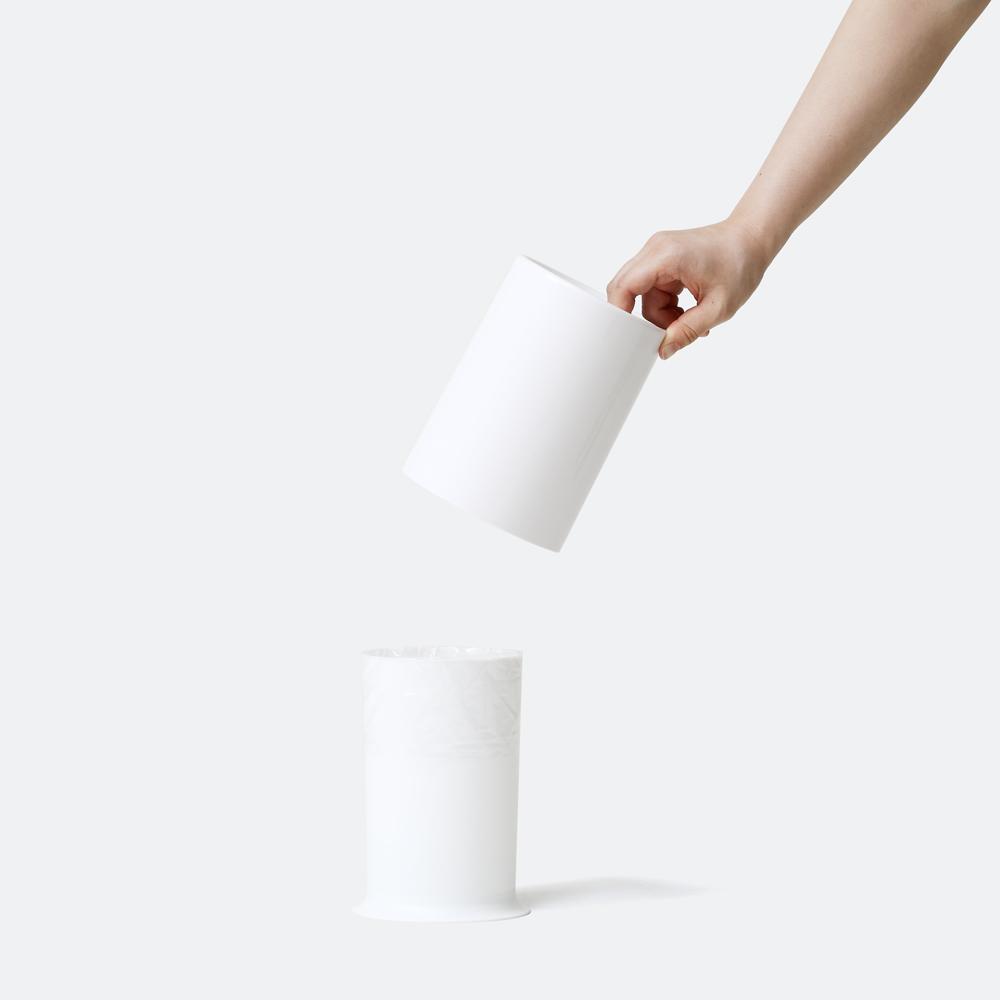 mini TUBELOR with Lid ホワイト