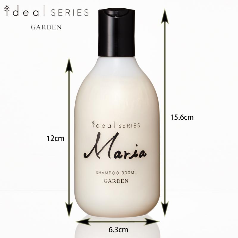 [Mariaシャンプー/300ml]美溶液のような贅沢シャンプーでしっとりと潤う髪へ