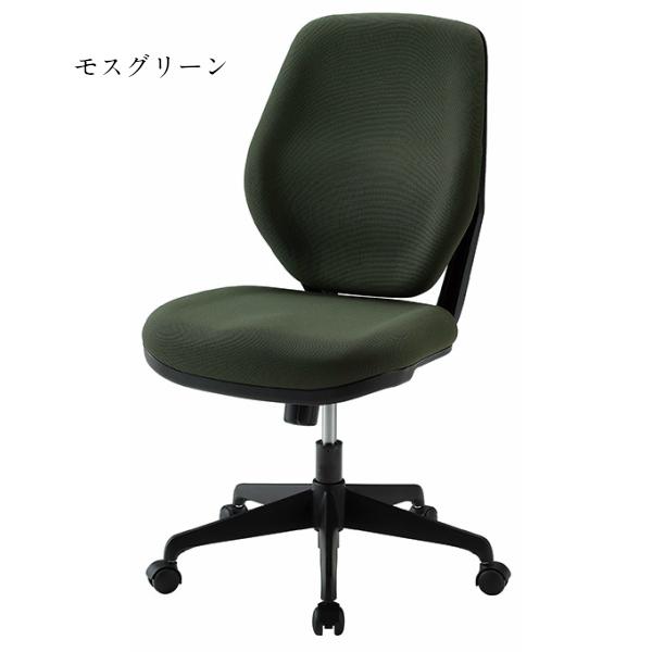 オフィスチェア ハイバック W525×D628×H947〜1037 モールドウレタン 事務椅子 回転椅子 ワークチェア ネイビー ボルドー モスグリーン ブラック シック PCチェア デスクチェア OAチェア ハイバックチェア オフィス家具 会社 GD-878