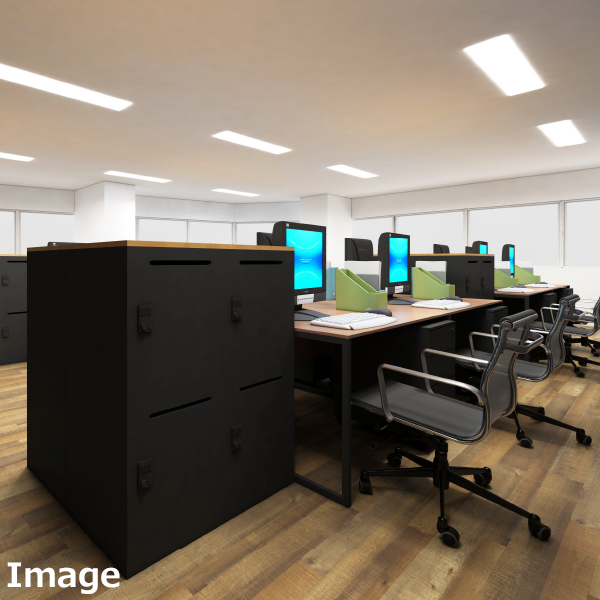 ワークデスク 幅1200×奥行700×高700 オフィス机 平机 事務机 オフィスデスク デスク GD-515B シンプル ブラックフレーム おしゃれなデスク 作業机 オフィス家具