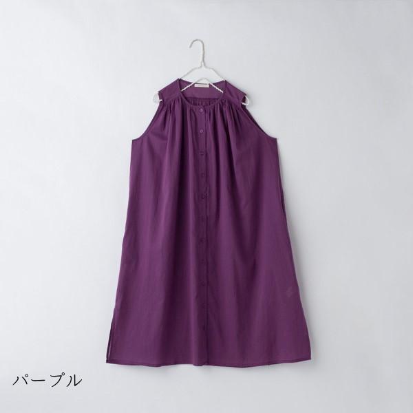 【新着セール】コットンボイルのふんわりワンピース(peniphass)【ナチュラル服】