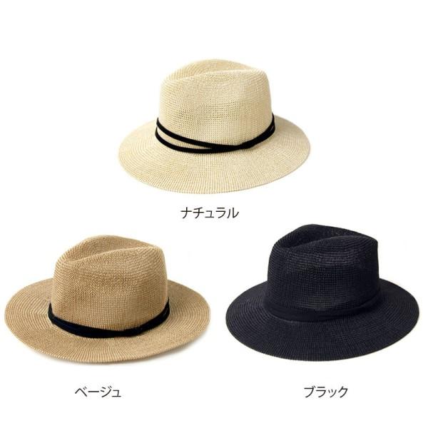 【セール】2重リボン中折れハット(splendid)