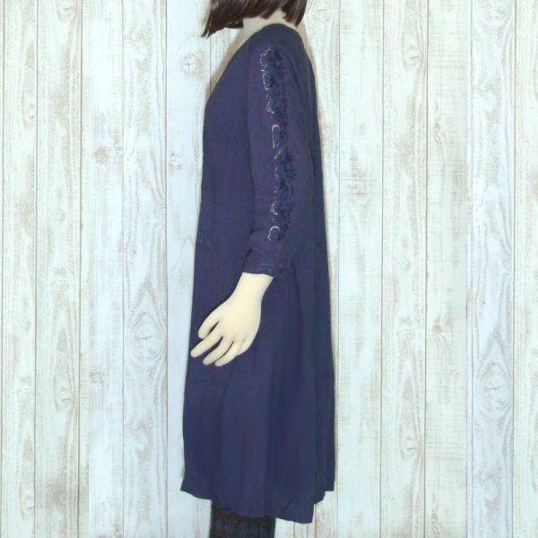 【セール】ローズエンブロイダリーワンピース(chouchou de maman)【ナチュラル服】