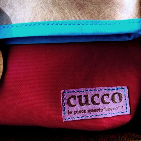 busuta レッド(cucco)【作家ものハンドメイドバッグ】