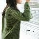 【セール】ミックス毛糸ゆったり袖ニットプルオーバー(garden)【ナチュラル服】