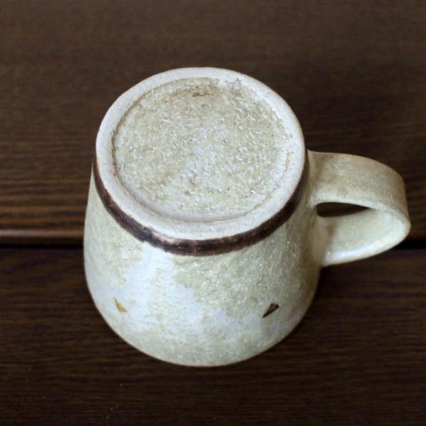 三角ドットのマグカップ(鈴木敬子)【作家ものハンドメイド雑貨】