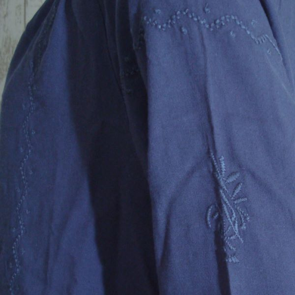 【セール】ローズエンブロイダリースモック(chouchou de maman)【ナチュラル服】