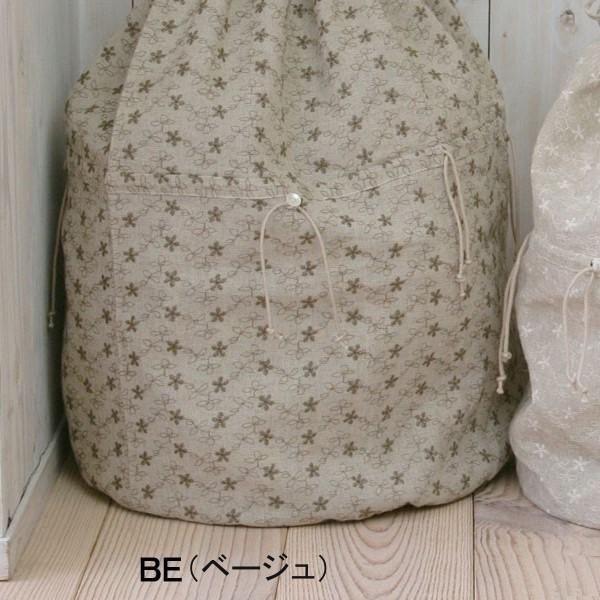 【セール】大きめバッグインポーチS(HORN PLEASE)【ナチュラル服】