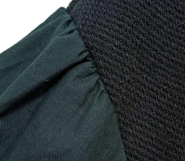 【セール】ウール混ワッフルボリュームスリーブプルオーバー(LeafClip)【ナチュラル服】