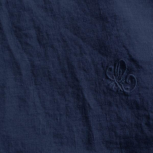 【セール】リネンカットワークスモック(chouchou de maman)【ナチュラル服】