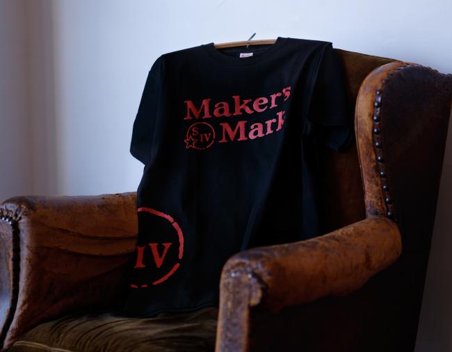 メーカーズマーク ロゴTシャツ